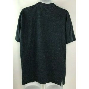 Vince Shirts - Vince Gray Heather Stretch Short Sleeve 100% XL